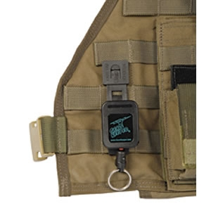 Military Gear Tethers - MOLLE Mount Malice Clip